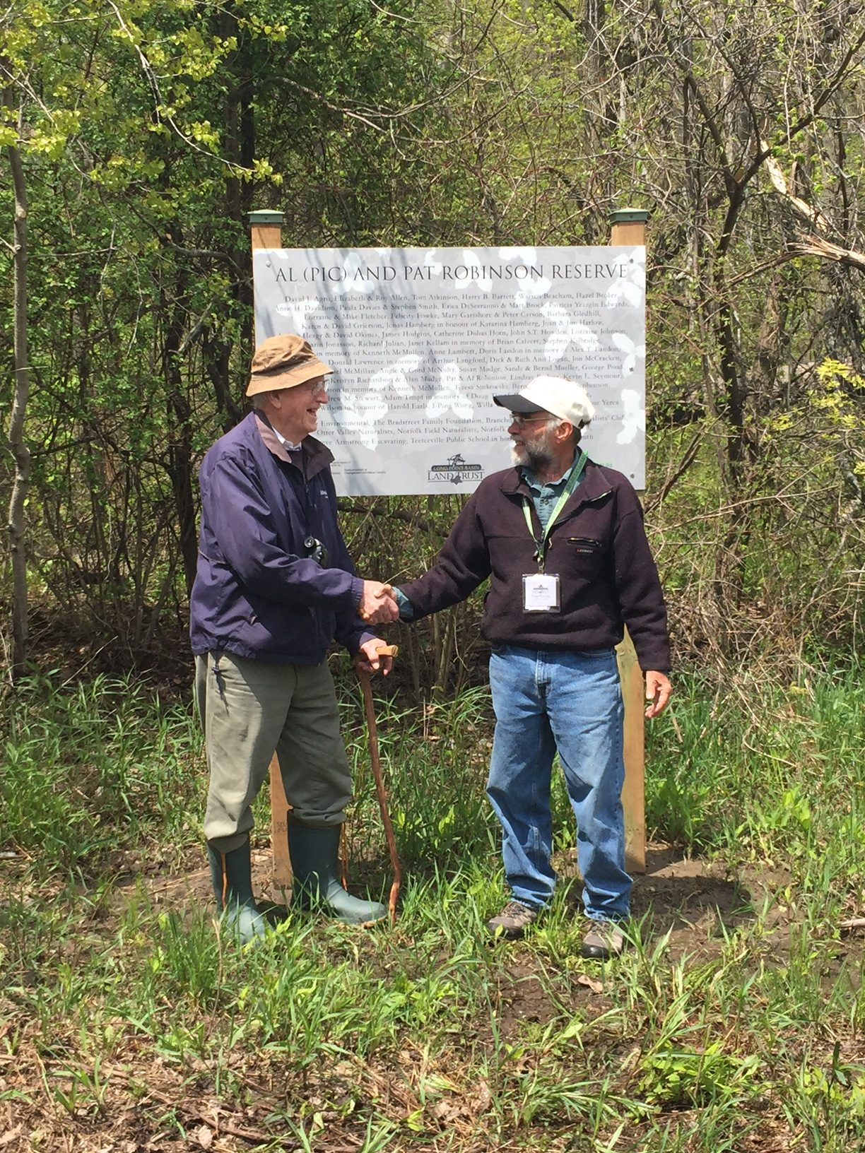 ViewPoint – Spring 2017 – New Nature Reserve Dedications