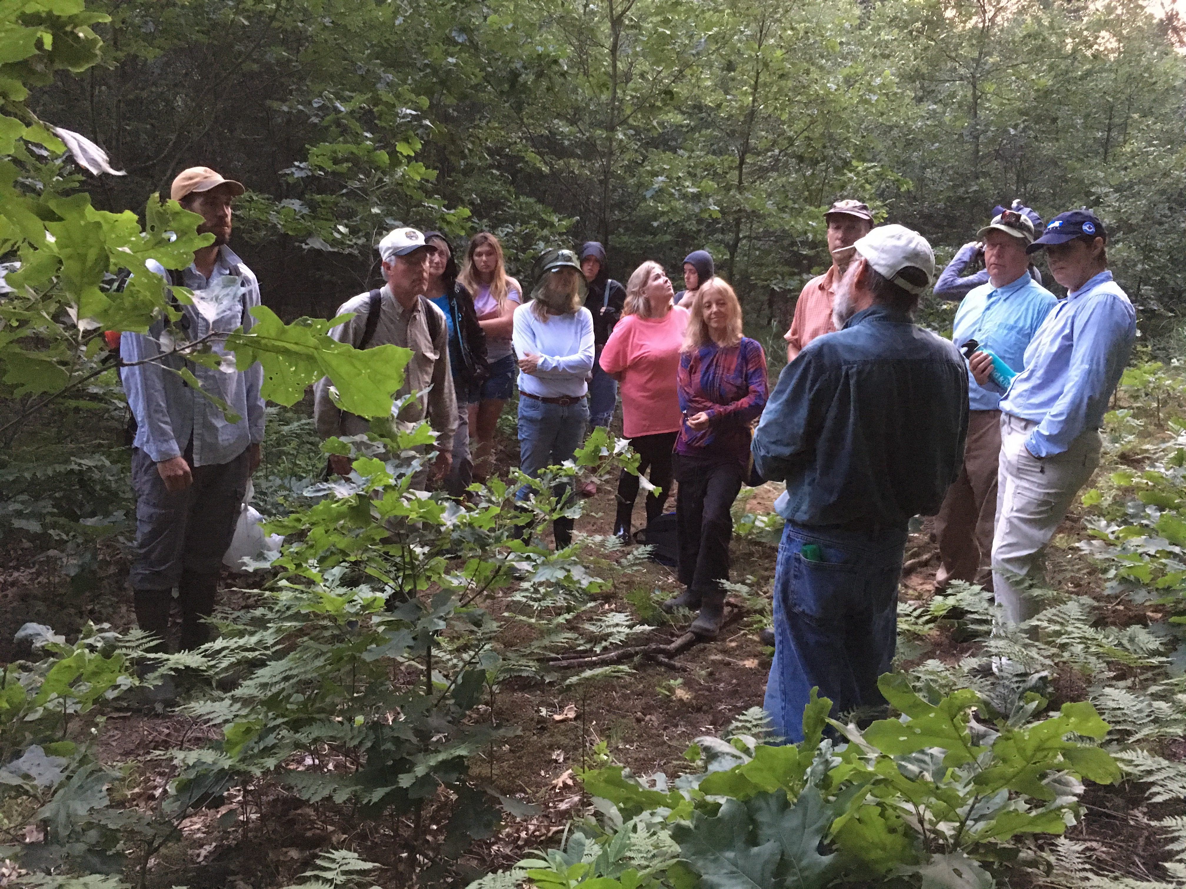 ViewPoint – Fall 2019 – Event participants have fun exploring the outdoors